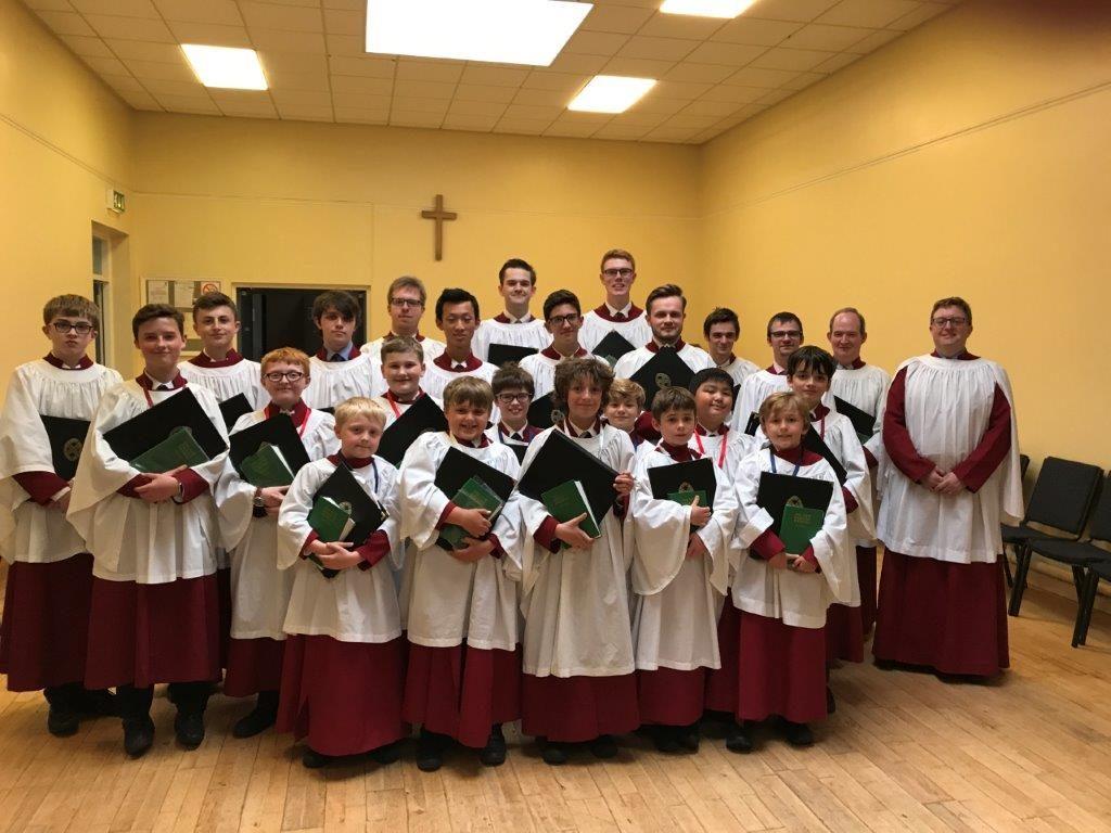 Organist Surplice Church and Choir