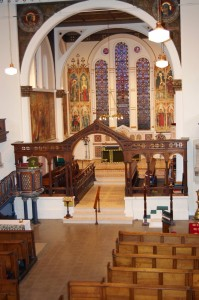 View of Church Interior